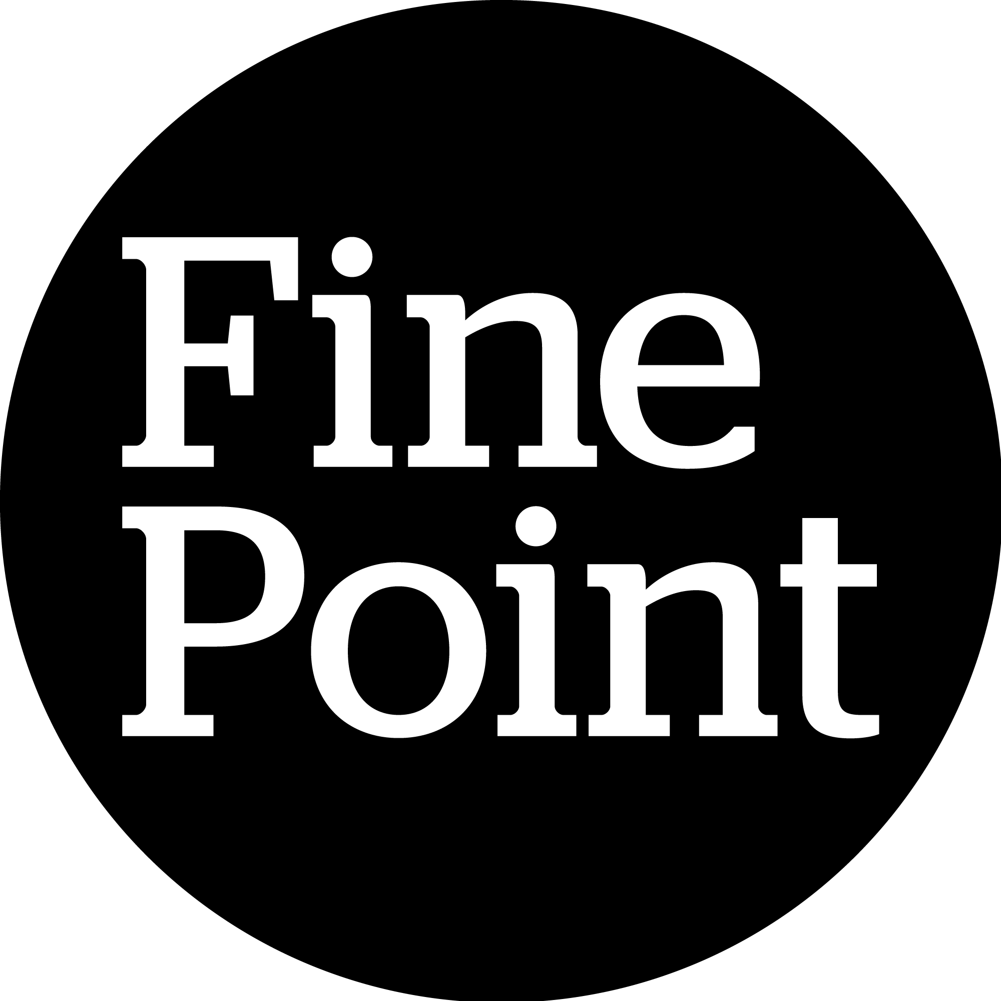 Finepointblackcircle